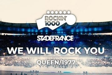 "1000 Musicians Play ""We Will Rock You"""