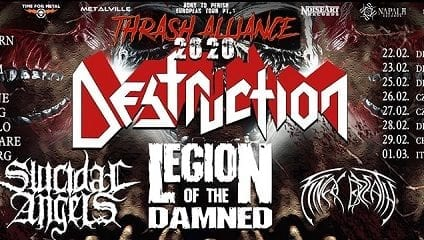 Destruction European Tour