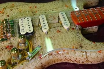 When Noodles become … a guitar