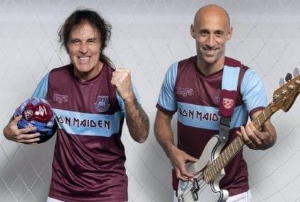 When football met … Iron Maiden