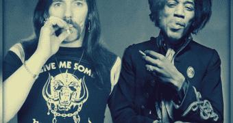 Lemmy Kilmister & Jimi Hendrix